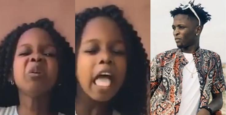 """Laycon will not win this year's #BBNaija show, take it or leave it"" - Little Girl Says (Video)"