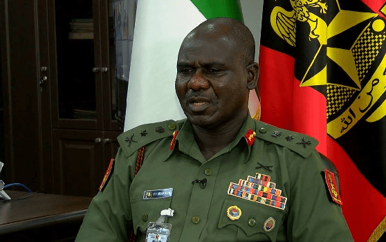 #LekkiMassacre: Buratai lied, His Profile Allegedly Shows He Travelled To Canada At Age 40