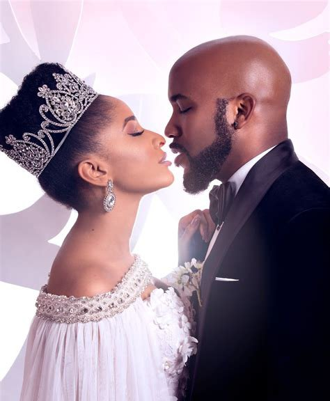 """Let's do this till we're Old and Grey, even in Heaven too"" - Banky W and Adesua celebrate 3rd wedding anniversary"