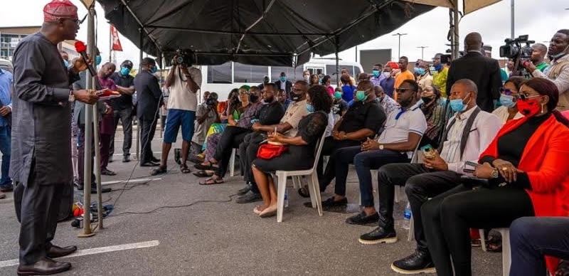 Looting: Lagos Business Owners to get Tax Break - Sanwo-Olu