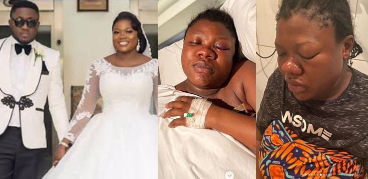 Man Beats 8Months Pregnant wife to Coma in Lagos State (See Photos)