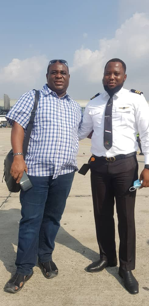 Man EXCITED After Finding Out His Son Was The Pilot On An Aeroplane He Boarded