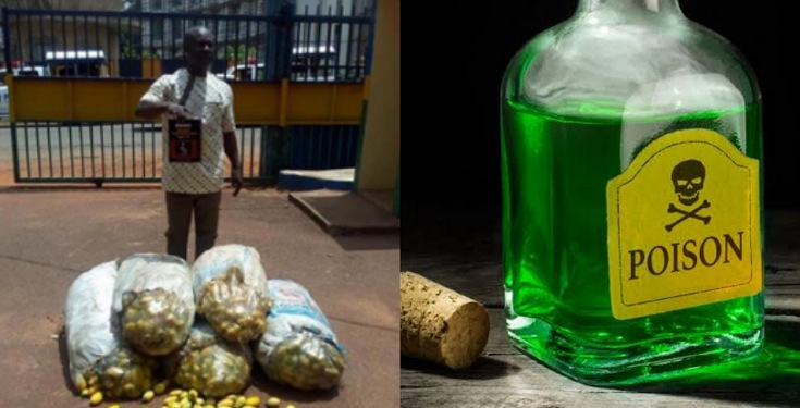Man Poisoned 143 Bags of Garden Eggs in Enugu State