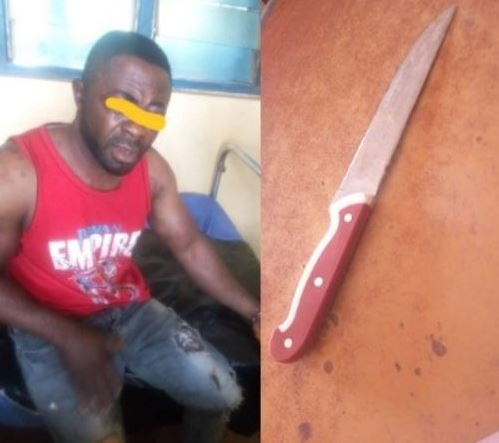 Man Stabs, Tries To Cut Off Woman's Chest For Ritual In Anambra Hotel (Graphic Photo)