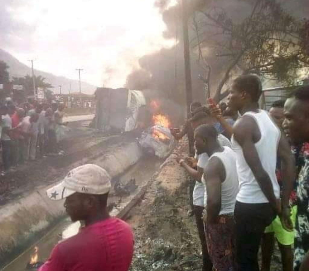 Many Feared Dead As Tanker Explodes In Lokoja (Photos)