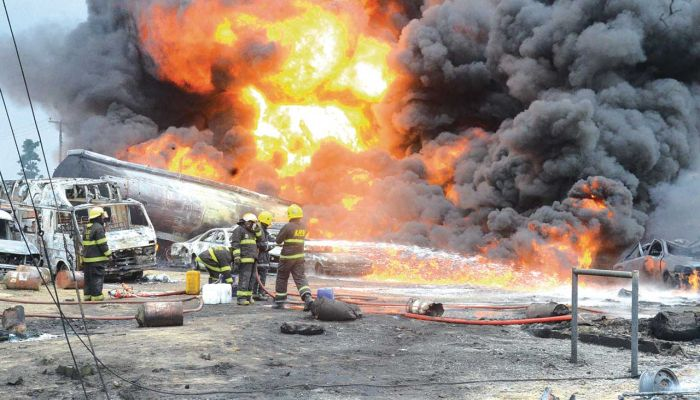 Many Injured As Gas Explodes In Iju, Lagos