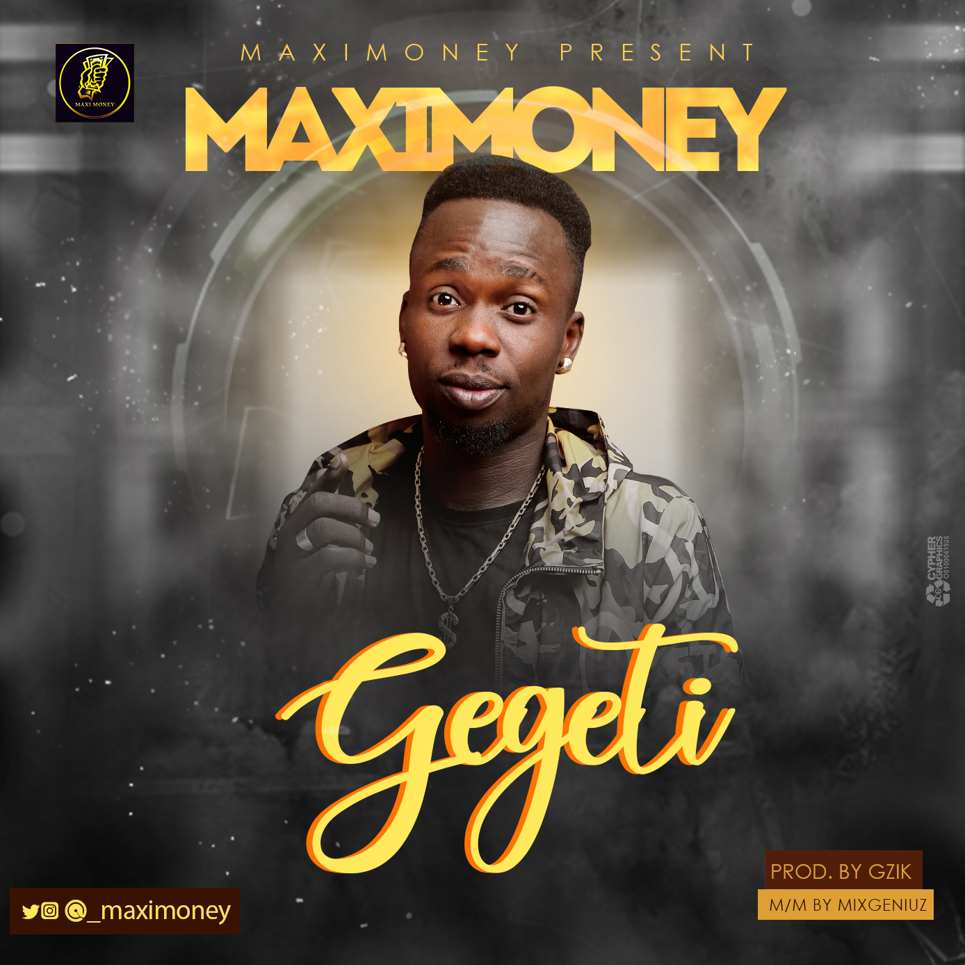 MaxiMoney - Gegeti (Prod. By Gzik)