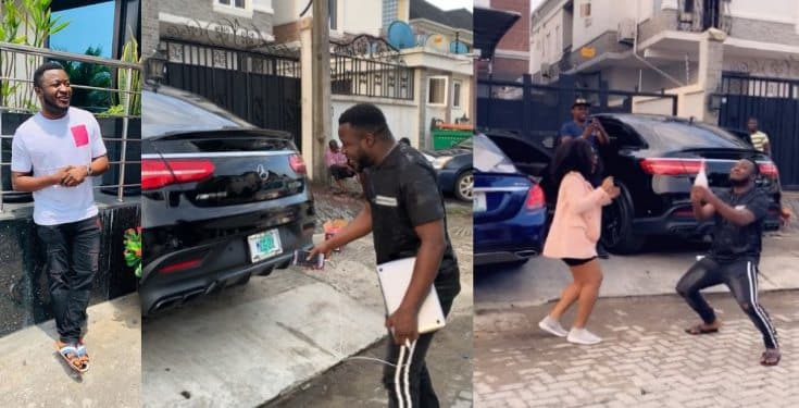 MC Galaxy Buys a New 2019 Mercedes AMG GLE 63S (Watch Video)