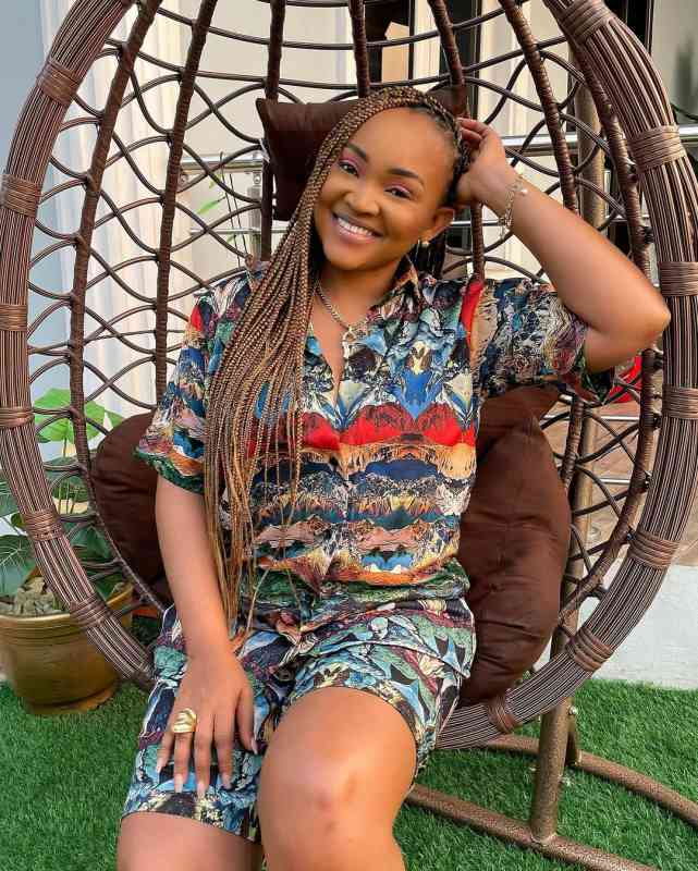 Mercy Aigbe shed tears as colleagues throw another birthday party (Video)