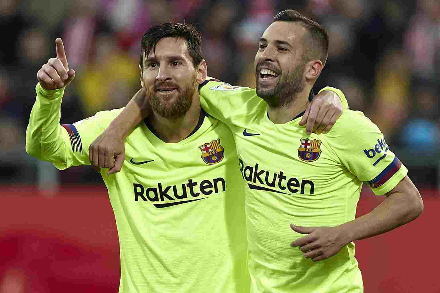 Messi Is Going Nowhere, Says Alba