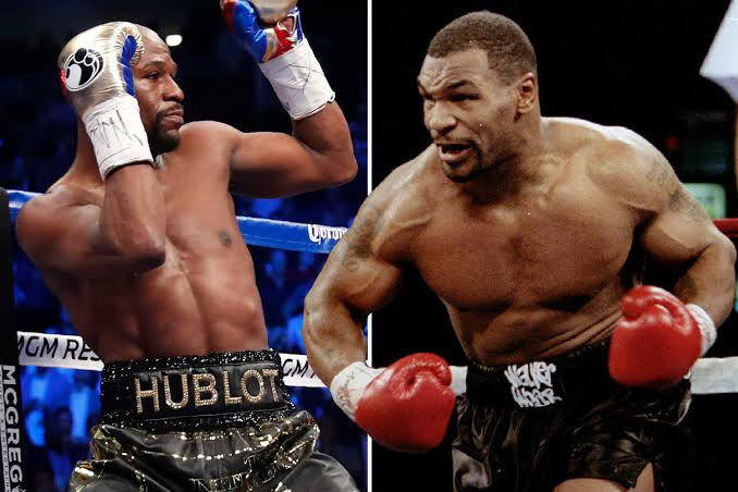 Mike Tyson Nnocks Floyd Mayweather For Claiming to be The Greatest Boxer of All Time, Lists Fighters That Were 'Better'