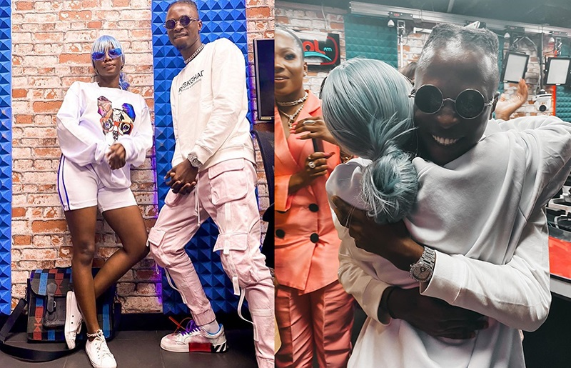 Moment Laycon Finally Met His Crush, Kemi Smallz (Watch Video)