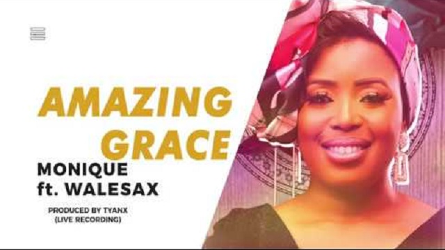 Monique Ft. Wale Sax - Amazing Grace (Live Video)