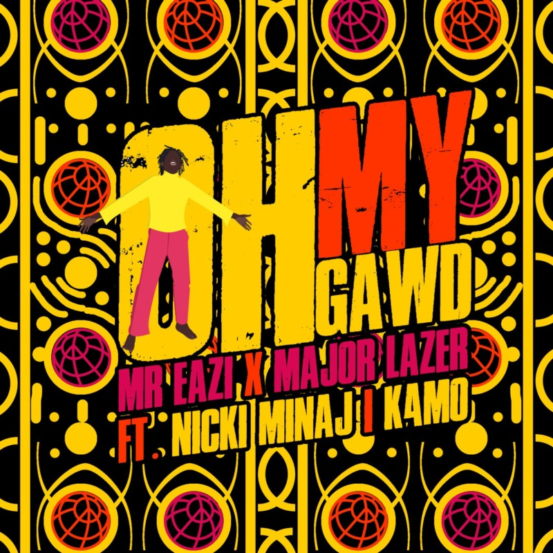 Mr Eazi - Oh My Gawd Ft. K4mo & Nicki Minaj (Lyrics)