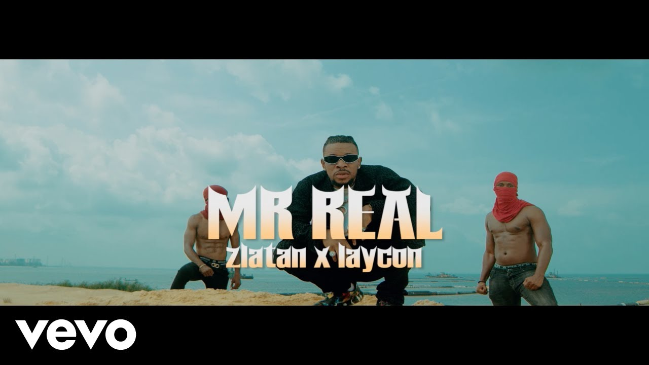 Mr Real - Baba Fela (Remix) Ft. Zlatan & Laycon (Official Video)