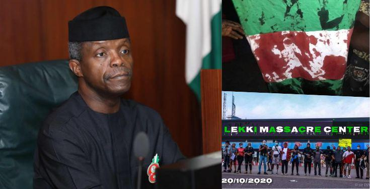 My heart goes out to all the Victims of the Lekki Shootings - VP Yemi Osinbajo