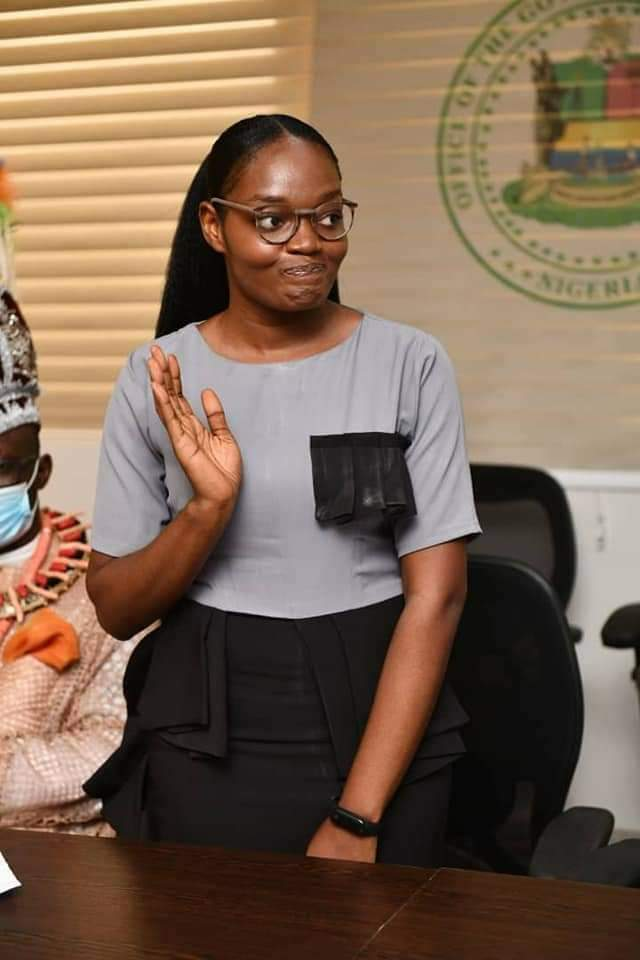 NDU's First Female First Class Law Graduate Honoured By Governor Diri (Photos)