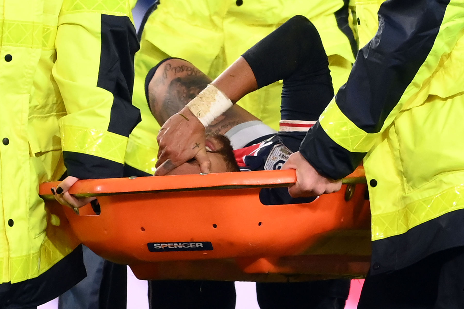 Neymar gets 'reassuring' prognosis after ankle injury: PSG