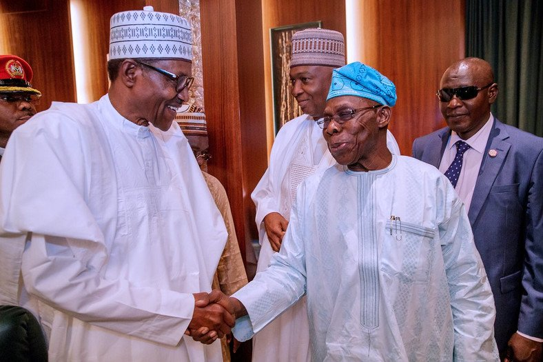Nigeria Is Fast Becoming A Failed State Under Buhari – Obasanjo Says