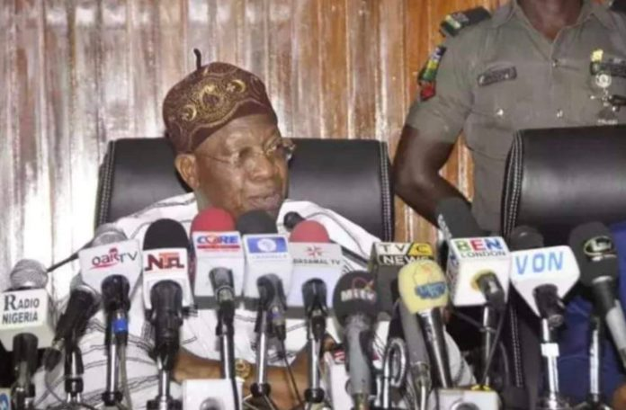 Nigeria Yahoo Boys Should Lend Us Money, Nigeria is Collapsing - Lai Mohammed Pleads
