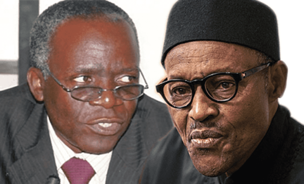Nigerian Activist And Lawyer, Femi Falana Has Accused President Muhammadu Buhari Of Disrespecting The Constitution.