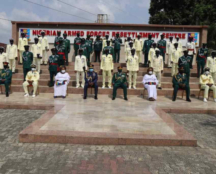 Nigerian Armed Forces Resettlement Centre Retires 162 Personnel