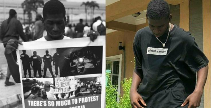 Nigerian father Kicks Son out of his House for Joining the #EndSars Protest
