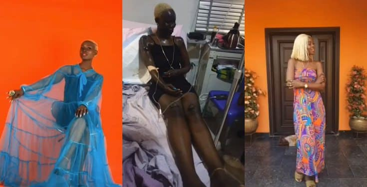 Nigerian Lady Celebrates her Birthday Months after Surviving a Gas Explosion