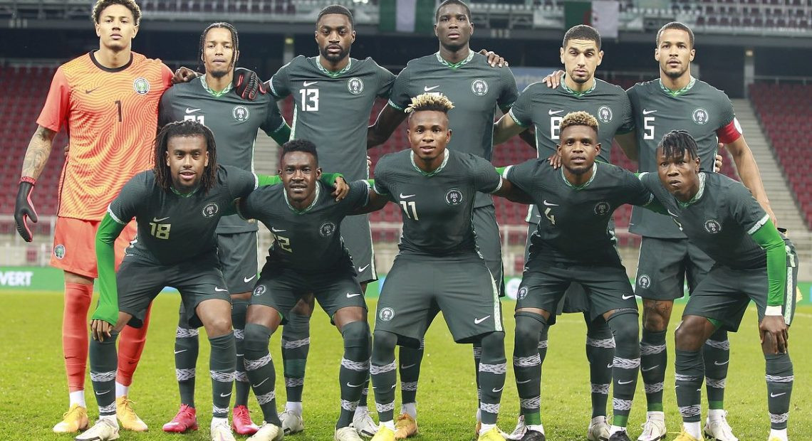 Nigeria's Super Eagles drop three sports on latest Fifa ranking