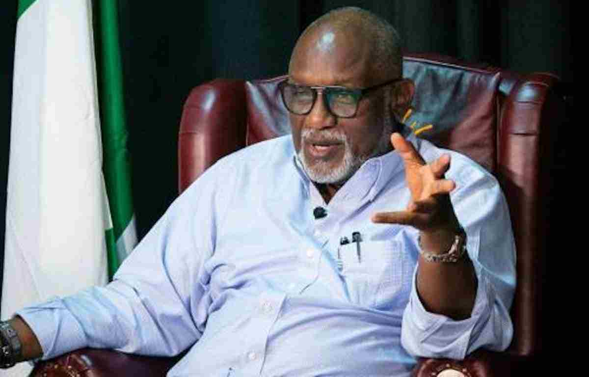 No room for Indolence in my 2nd Term - Akeredolu warns aides