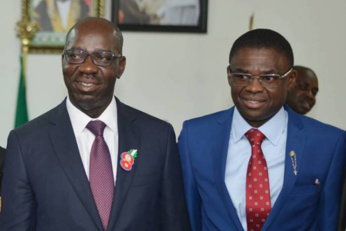 Obaseki's Deputy Speaks On Arrest, Fingers Oshiomhole, Ize-iyamu