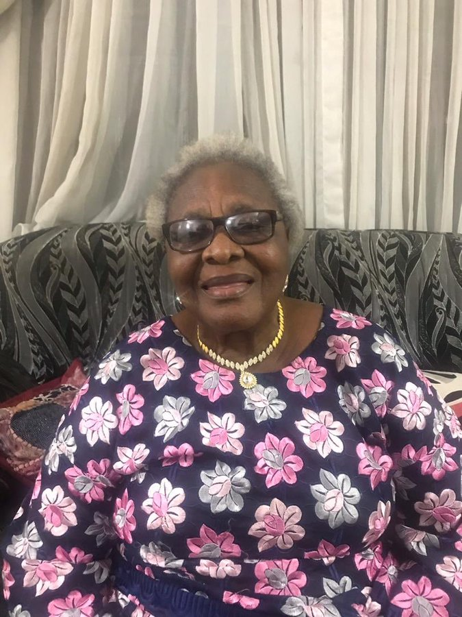 Oby Ezekwesili's Mother Dies of Cancer at 78Years