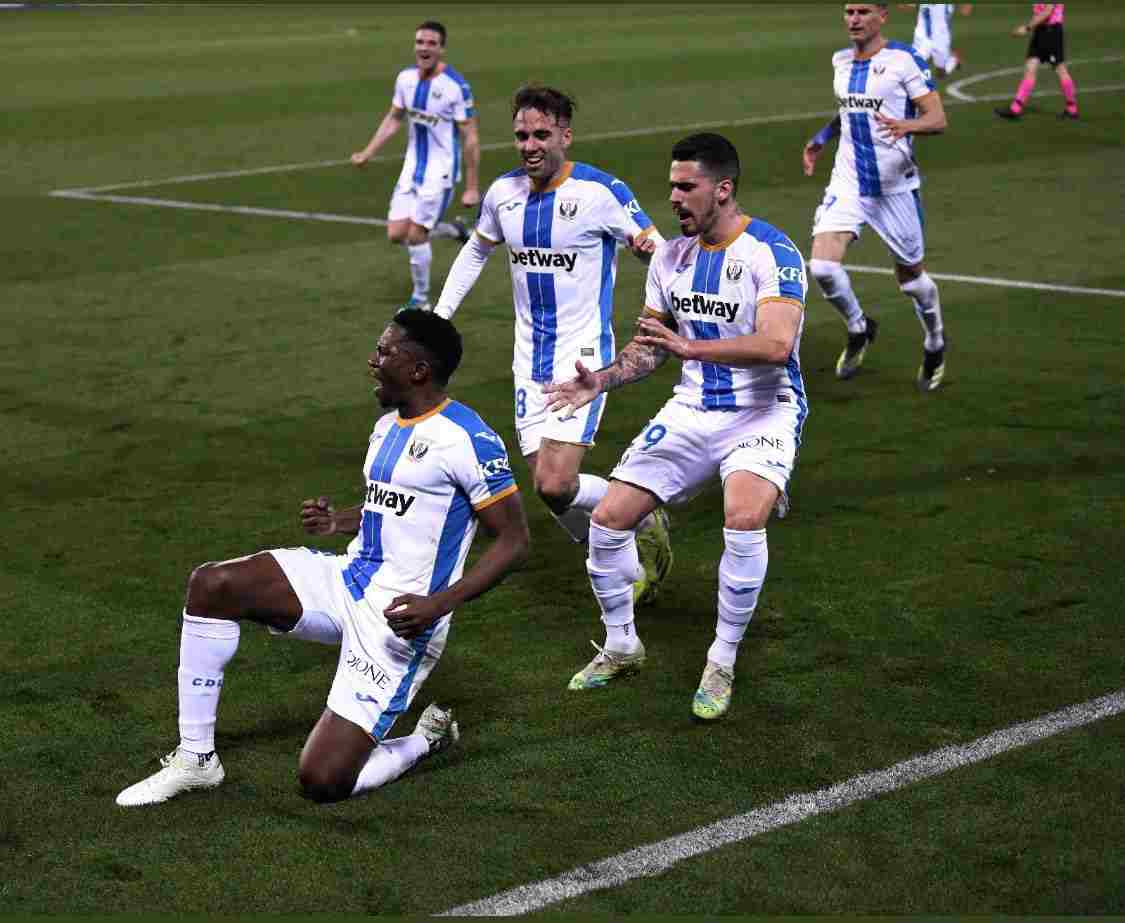 Spanish Segunda: Omeruo Helps Leganes Beat Tenerife, Claim 5th Straight Win