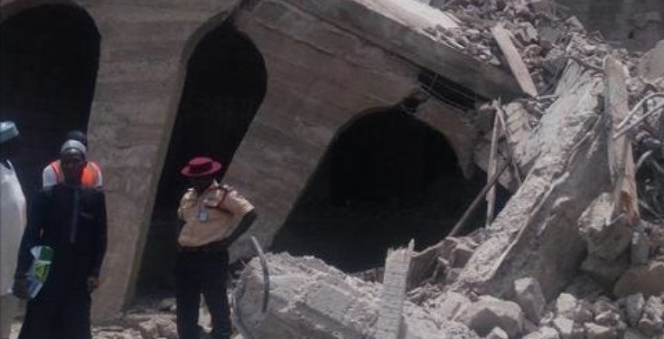 One Year Boy, Two others Rescued as Four Family Members Died in Kano collapsed building