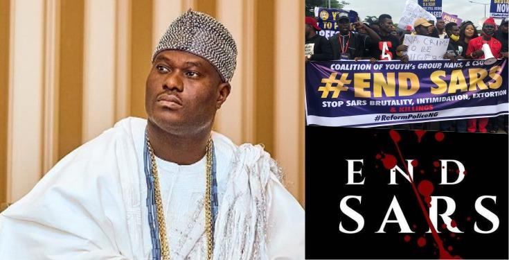 Ooni of Ife Commends EndSARs Protesters, Shares Daughter's Encounter