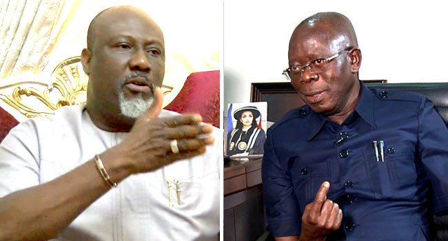'Oshio Baba' Has Turned To 'Oshio Pikin' Dino Melaye Releases New Video To Mock Oshiomhole