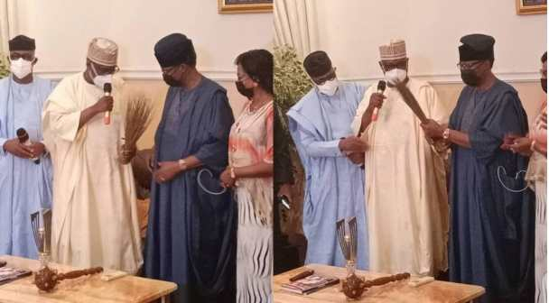 Otunba Gbenga Daniel received into APC by governors who're in Ogun over herdsmen crisis
