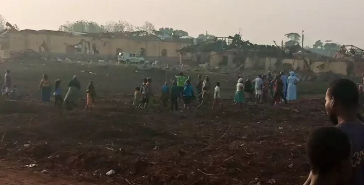 Over 100 Buildings Destroyed As Explosion Rocks Akure (See Photos)