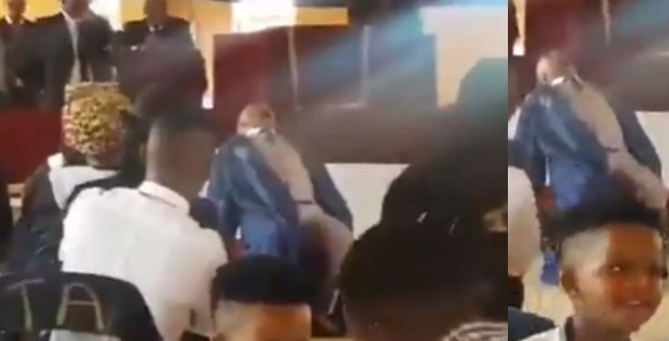 Pastor Slumped and Died in the Middle of Church Service (Video)