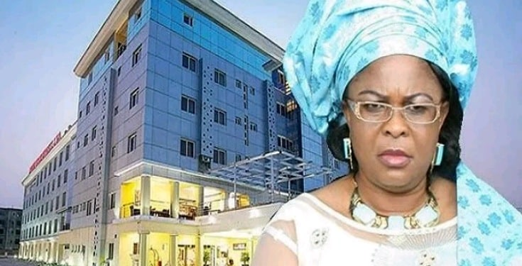 COVID-19: Patience Jonathan's 200 Bed Hotel to Become Isolation Centre