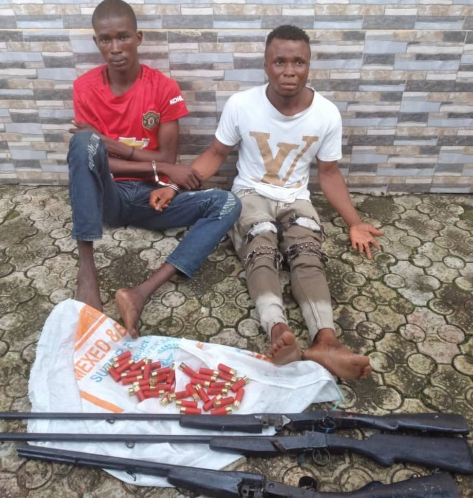 Police Arrests Two Suspected Armed Robbers, Kidnappers In Delta Community