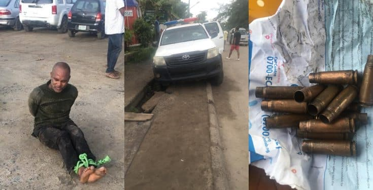 Police Officer Allegedly shoots Colleagues Dead in Onikan, Lagos (See Photos)