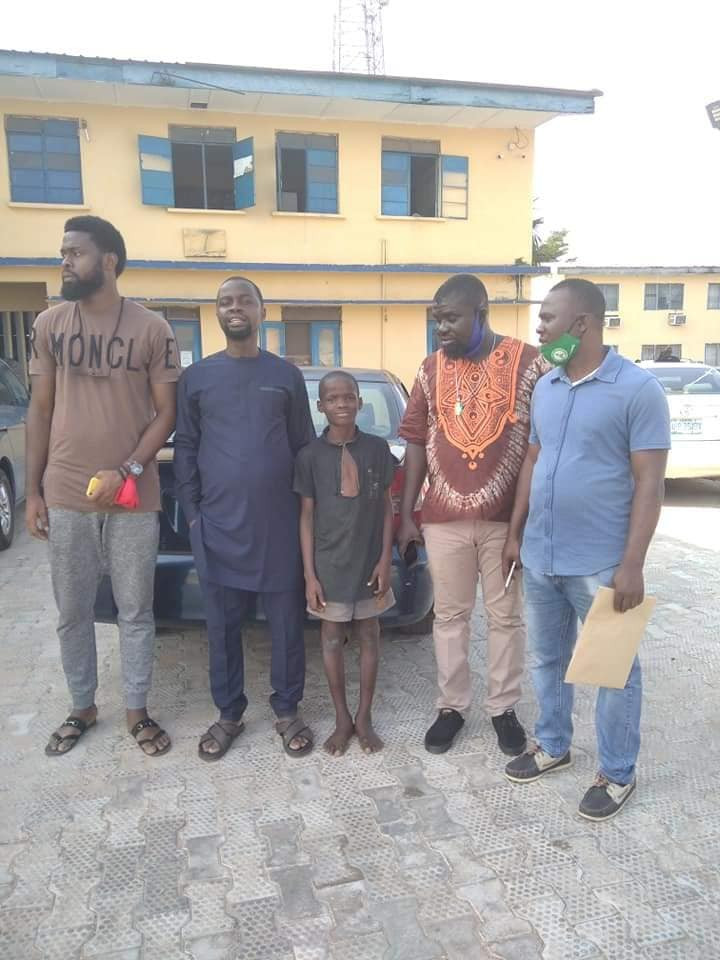 UPDATE: Police release 11Years Old Boy Arrested over his alleged involvement in Attack on a Police Station in Edo State
