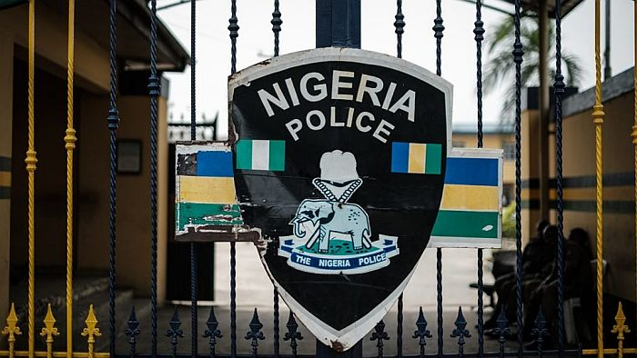 Policemen Disobey IG's Warning, Beat Protesters Carrying Nigerian Flag (Watch Video)