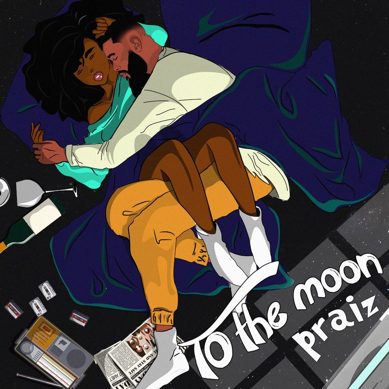 Praiz Ft. Kingxn - To The Moon
