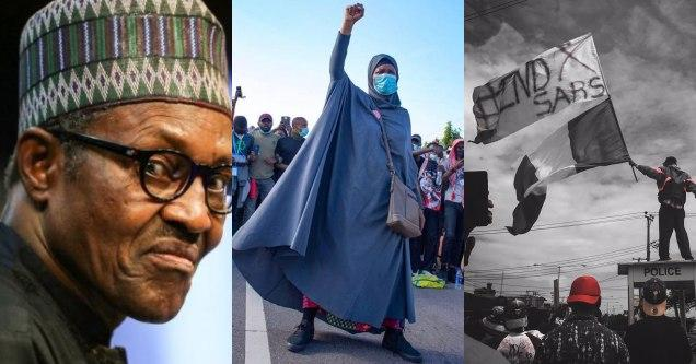 President Buhari Reacts To #SARSMUSTEND Campaign, Promises 'Extensive Reform' Of Nigeria Police
