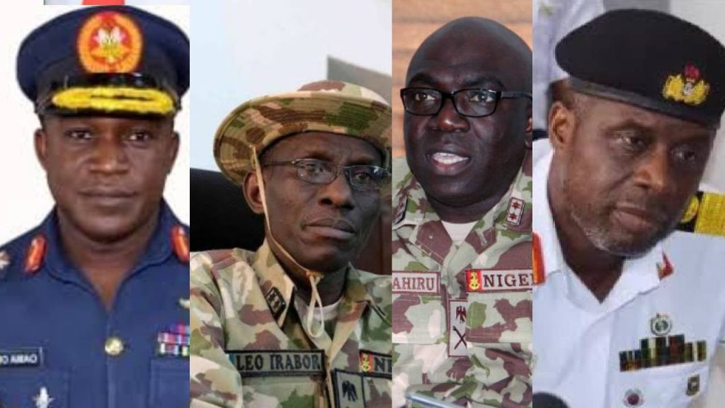 Profile of Nigeria's new Service Chiefs
