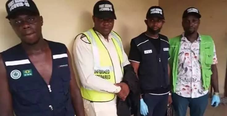 Quack Health Workers Arrested for Distributing Substandard Sanitizers and Face Masks