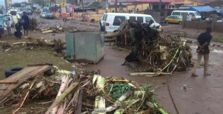 Rainstorm Wrecks Properties Worth Millions of Naira in Plateau State