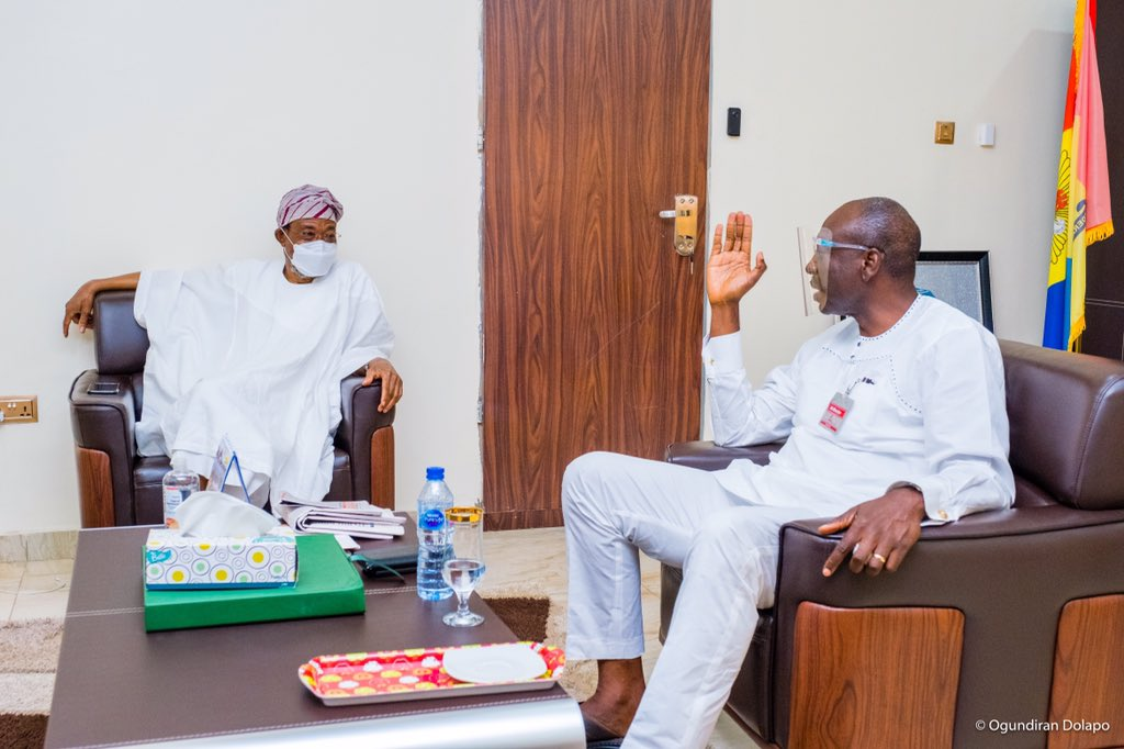 Rauf Aregbesola Presents Ize-Iyamu As The Next Governor Of Edo State